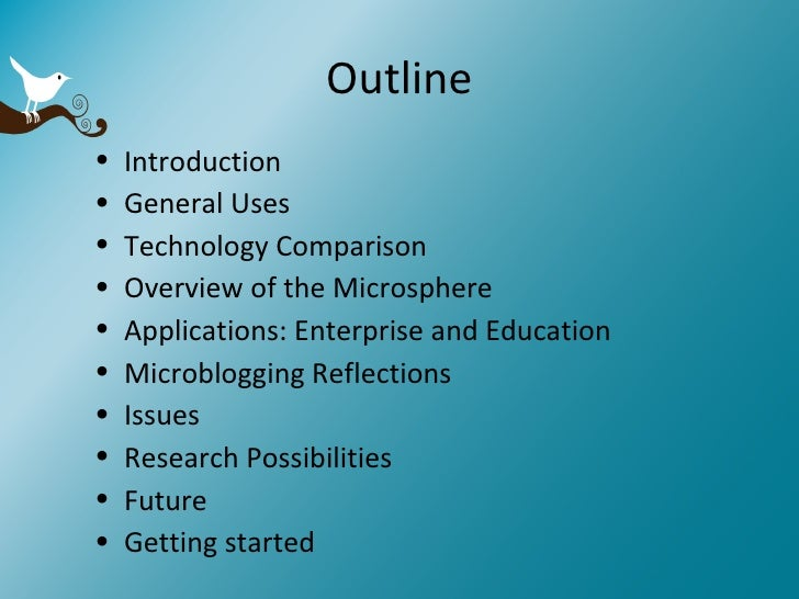An Overview of Microblogging Slide 2