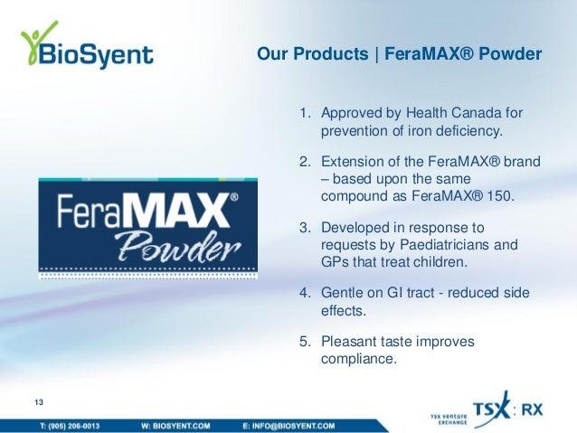 how to take feramax powder