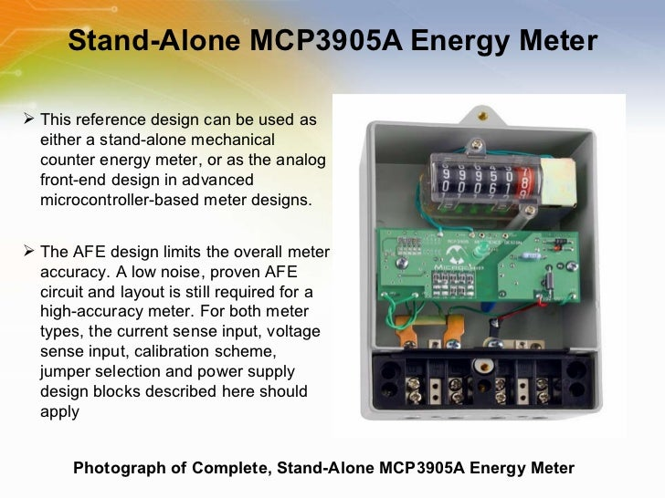 Energy Metering ICs with Active Real Power