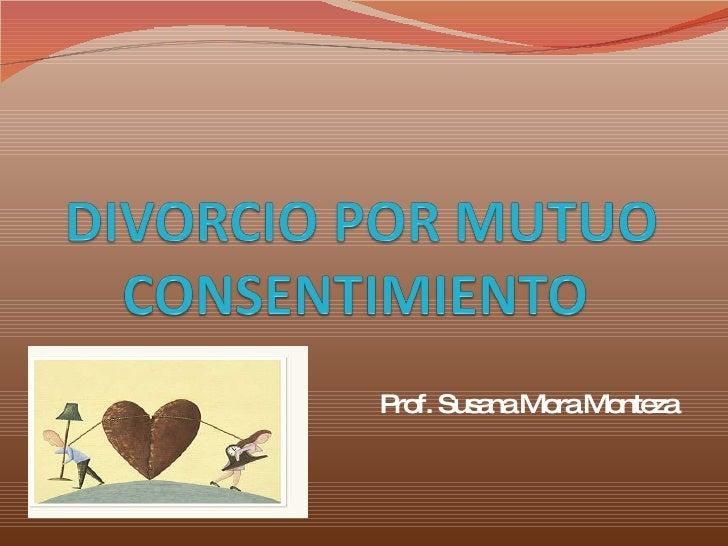 Prof. Susana Mora Monteza