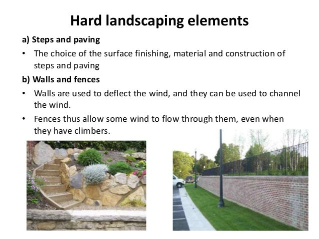 Microclimate and landscape for Hard landscaping
