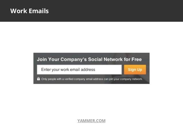 Work EmailsYAMMER.COM