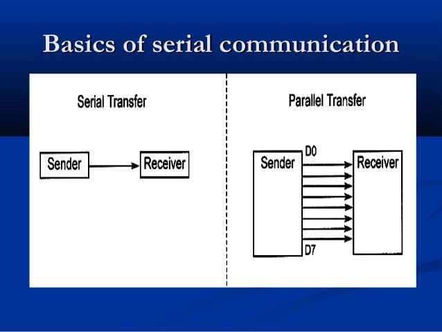 Basics of serial communicationBasics of serial communication