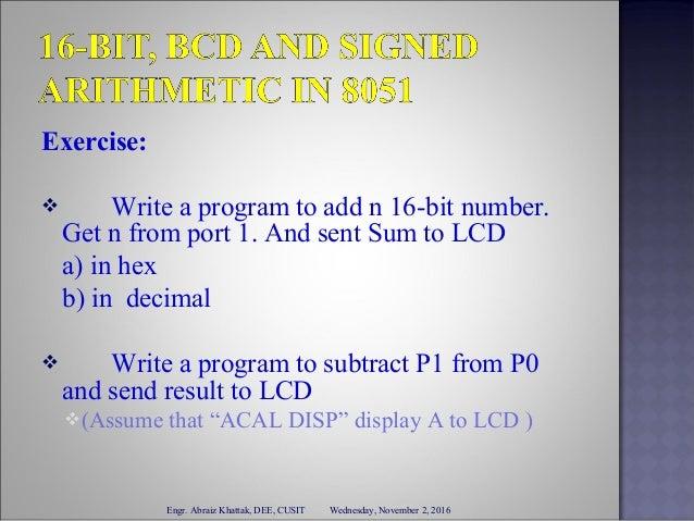 sjmp instruction in 8051