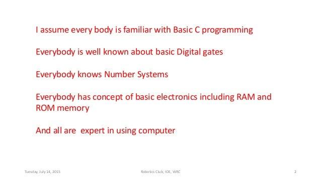 Microcontroller 8051 training Slide 2