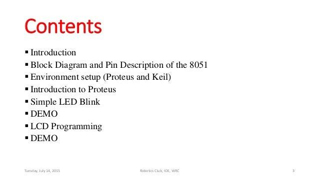 Microcontroller 8051 training Slide 3