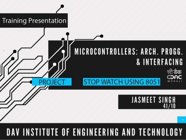 OVERVIEW• Introduction to Embedded System    – MCS51 Microcontroller Family    – Architecture of MCS-51•   Memory Concepts...