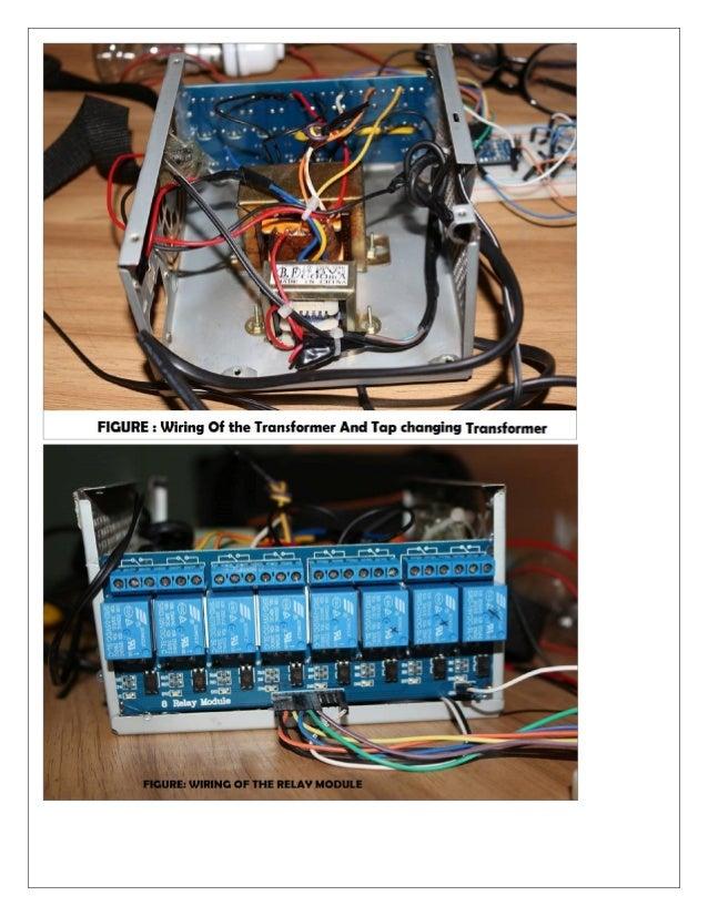 microcontroller based voltage stabilizer