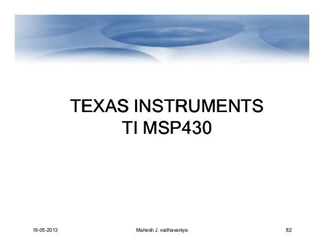 Ti Msp430 Instruction Set