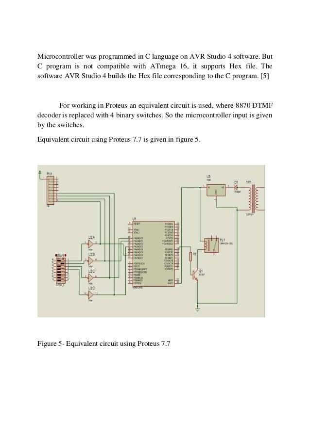 Dtmf Decoder Circuit Diagram