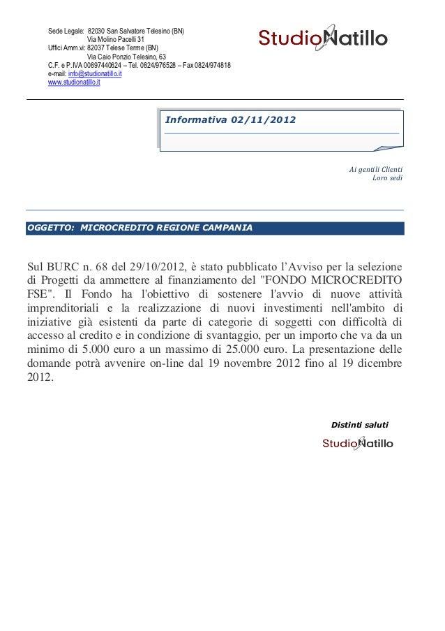 Sede Legale: 82030 San Salvatore Telesino (BN)                   Via Molino Pacelli 31    Uffici Amm.vi: 82037 Telese Term...