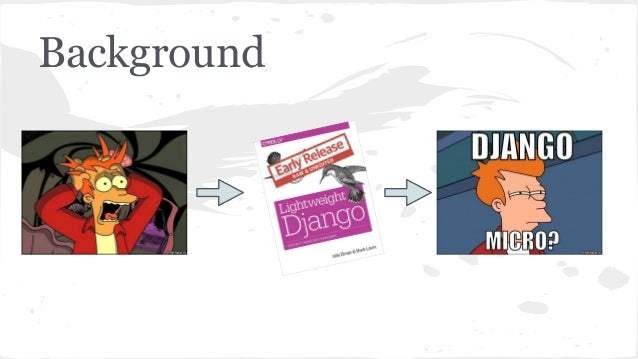 Micro(Lightweight) Django Slide 2
