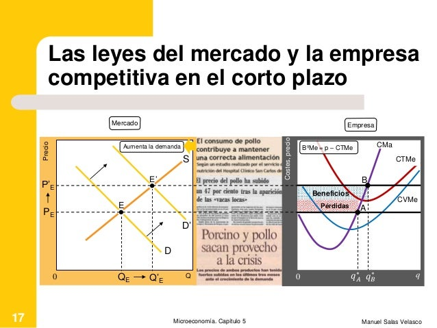 Las leyes del mercado y la empresa competitiva en el corto plazo Manuel Salas VelascoMicroeconomía. Capítulo 517 Beneficio...