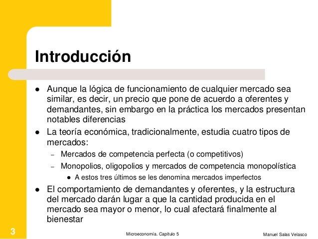 Mcroeconomía Cap. 5 Competencia perfecta Slide 3