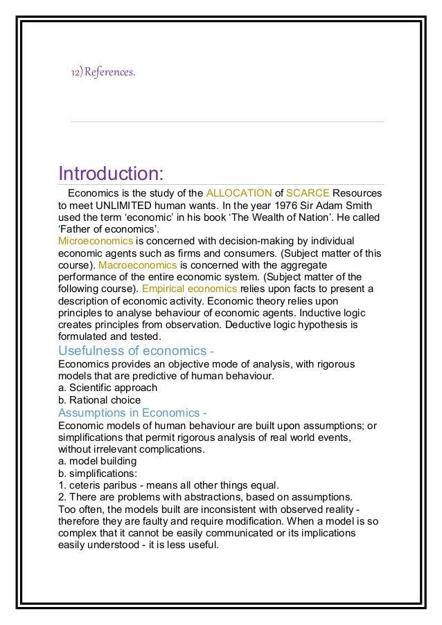 micronotes - Microeconomic Study Notes Houston H Stokes ...