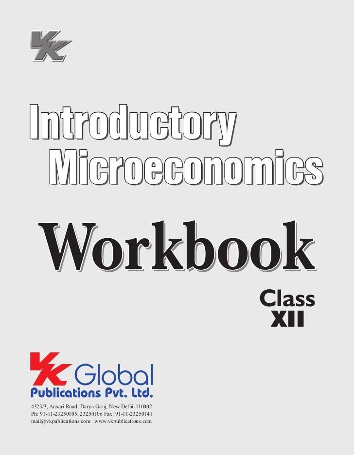 Introductory Microeconomics  Workbook                                                    Class                            ...