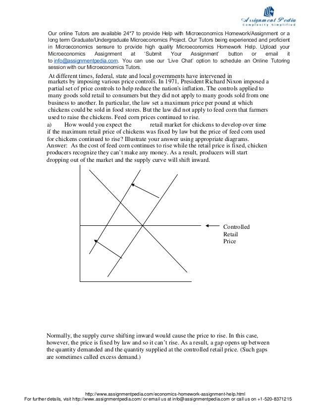Microeconomic homework