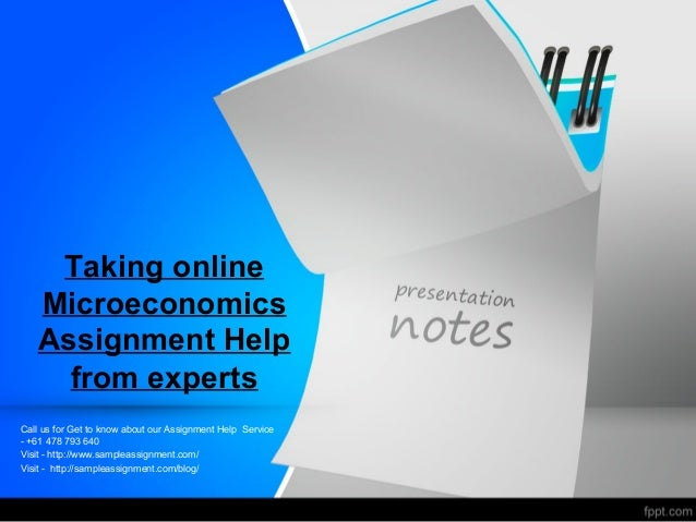 Make Your Economics Homework Ideal