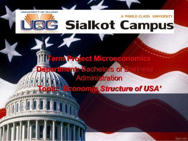Term Project MicroeconomicsTerm Project Microeconomics Department:Department: Bachelors of BusinessBachelors of Business A...