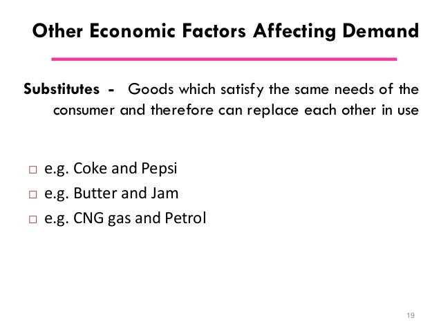 micro factors affecting share price That suggests at least two factors in addition to price that affect demand  willingness to purchase suggests a desire, based on what economists call tastes  and.