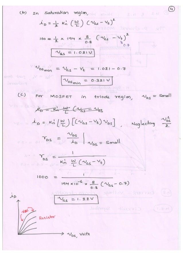 Microelectronic Circuits (10EC63) Notes for Visvesvaraya