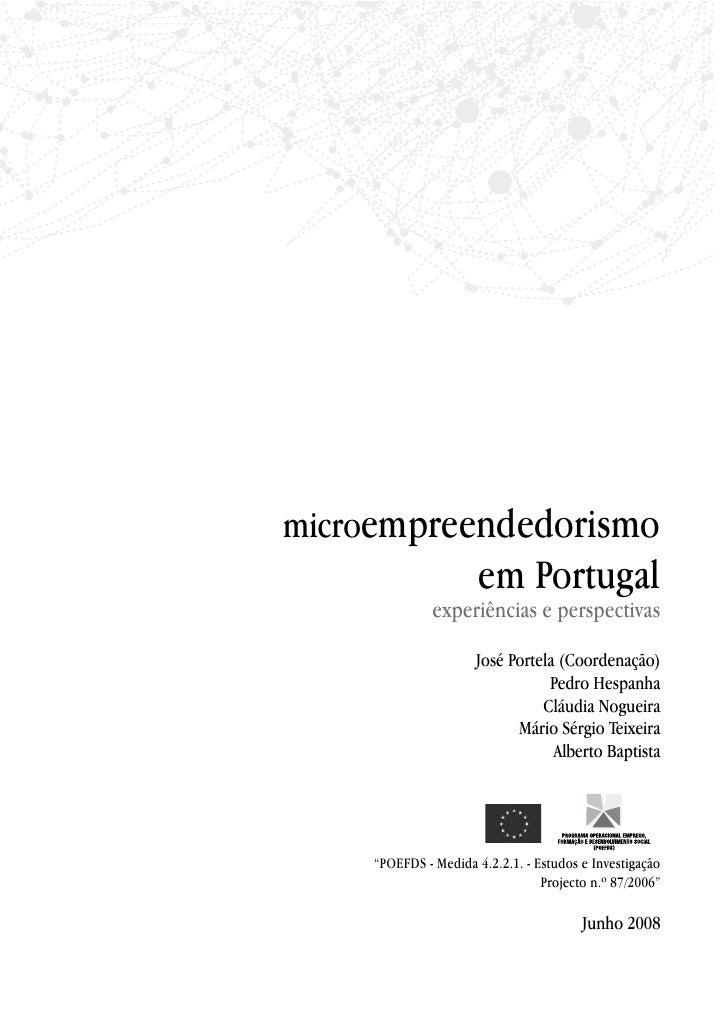 Microempreendedorismo em Portugal