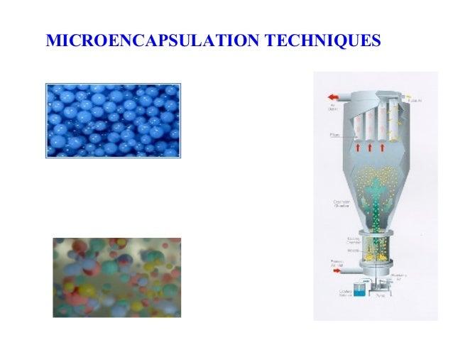MICROENCAPSULATION TECHNIQUES