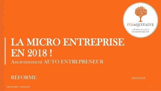 Micro Entreprise 2018