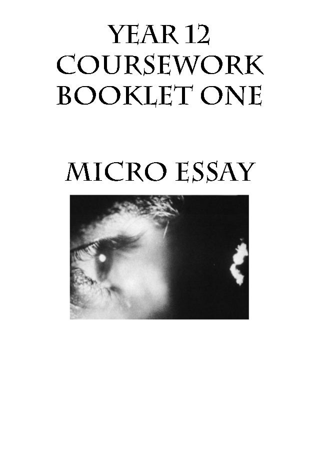 micro film essay I want to ask about the microfilm—microfilm—but it's hard to get a word in he's  already gone three rounds on the whiteboard, scribbling,.