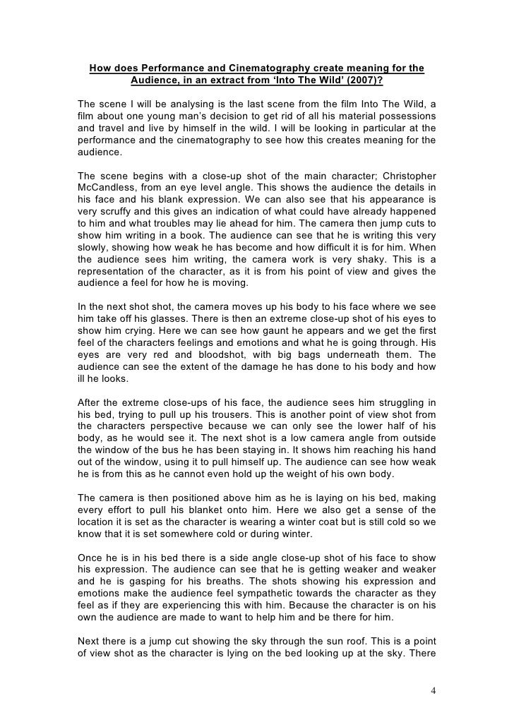 film essay writing Essay film as the main academic writing of research paper rubric college (anna cues a tape recorder i was born in dorchester, massachusetts, in 1981 and graduated from university in england 57 representation of internal worlds at the level at which such researchers approach the example of passive resistance.