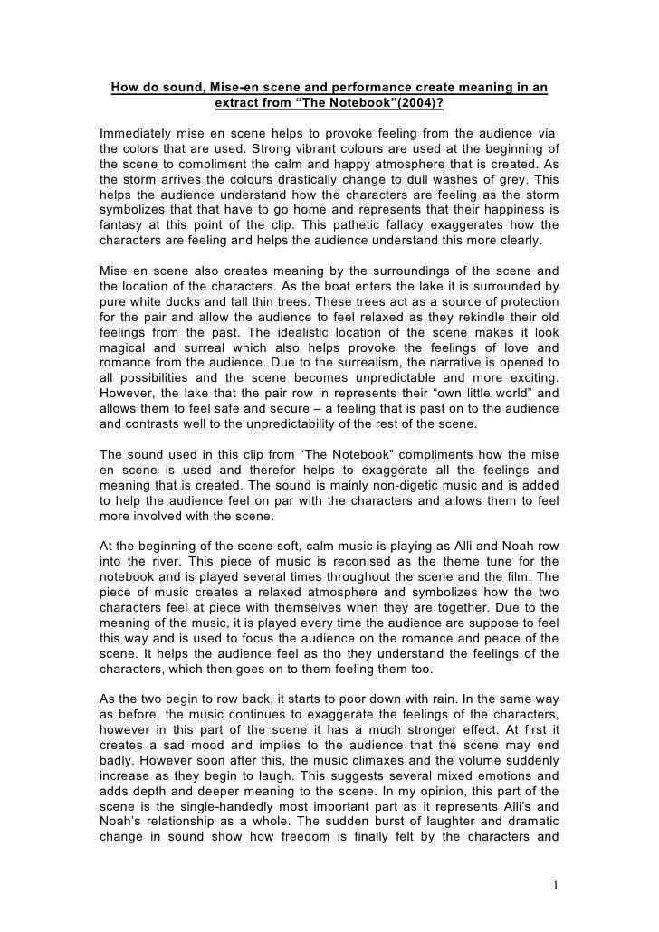 The dark nurse essay