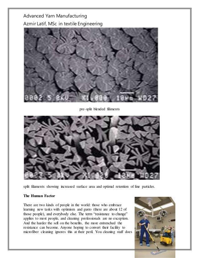 Advanced Yarn Manufacturing Azmir Latif, MSc in textile Engineering pre-split blended filiments split filaments showing in...