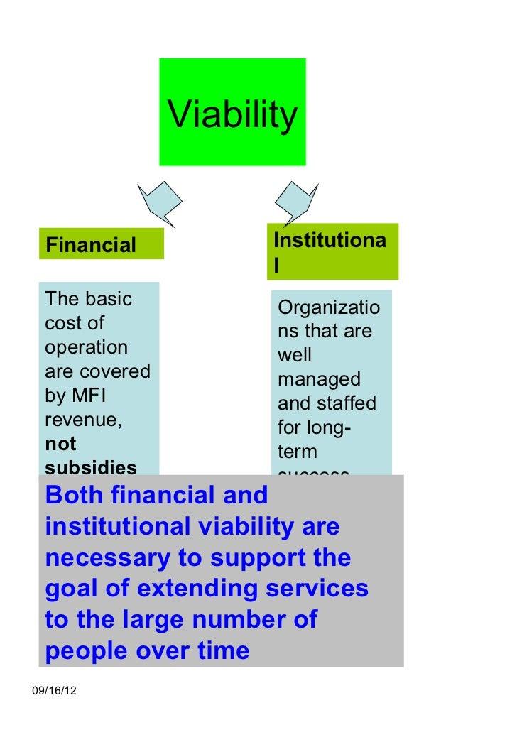 Microfinance 1 Notes