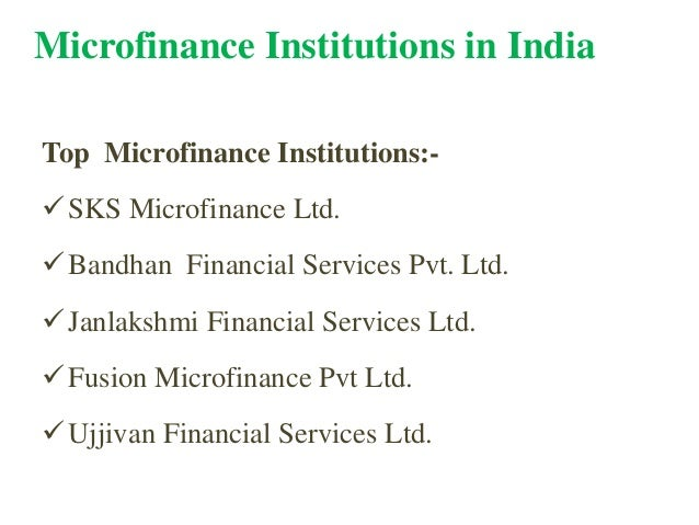 Microfinance And Janlakshmi Presentation