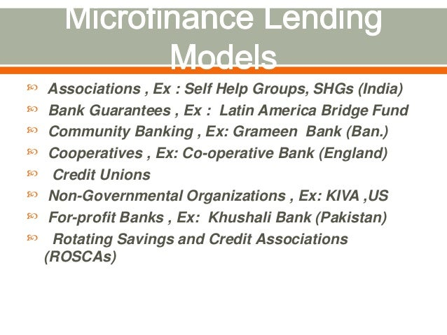 importance of microfinance in pakistan Microfinance played an important role in reducing poverty as it increases income of poor householdsmicrofinance in pakistan: to set up strong foundations [10, 11] .