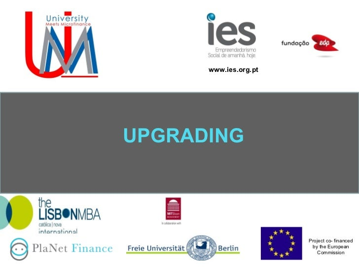 UPGRADING www.ies.org.pt