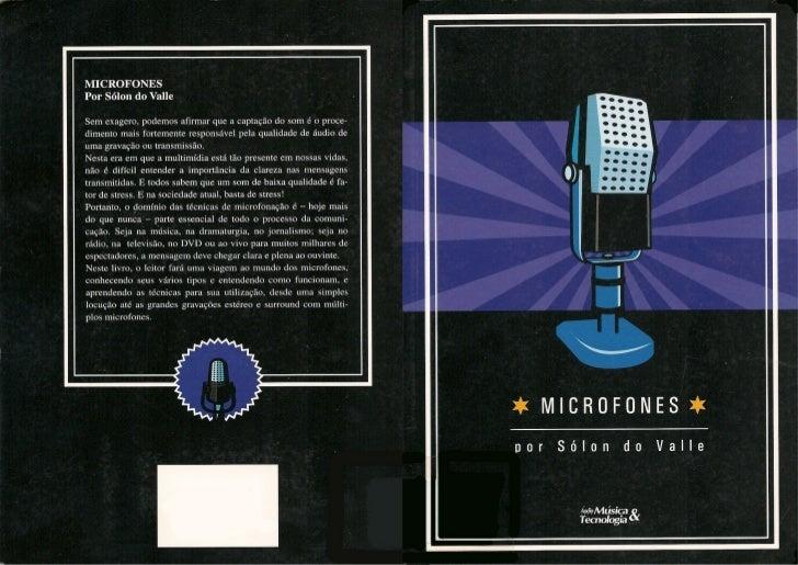 Microfones   solon do valle