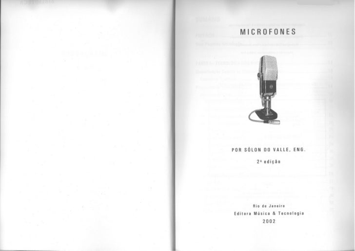 Microfones   solon do valle Slide 2