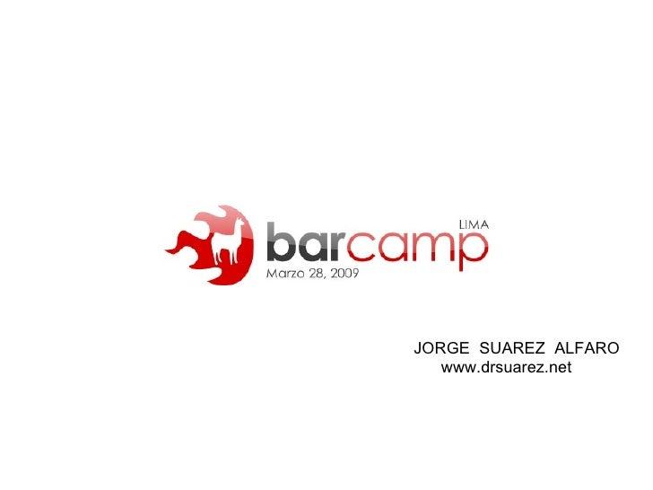 JORGE  SUAREZ  ALFARO www.drsuarez.net