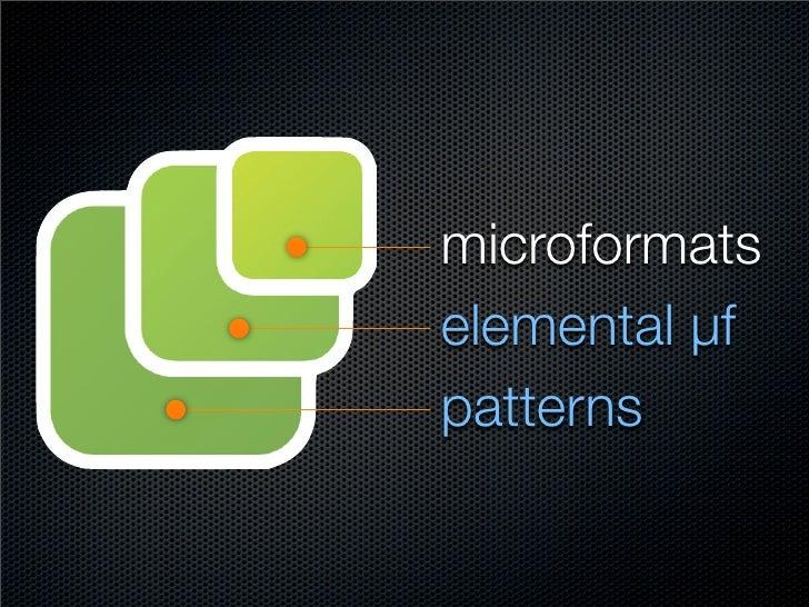 compound µf elemental µf patterns