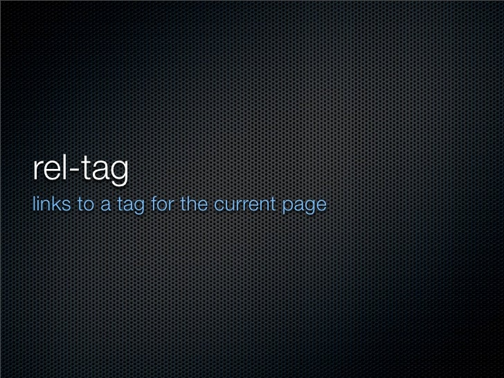 what is the tag here?  <a href=quot;http://technorati.com/tag/techquot; rel=quot;tagquot;>fish</a>