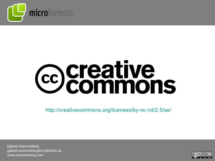 http://creativecommons.org/licenses/by-nc-nd/2.5/se/