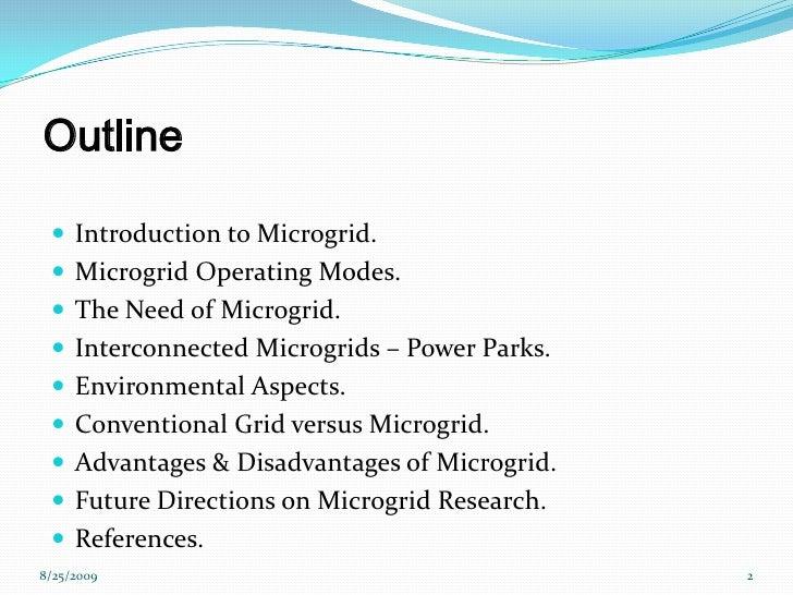Microgrid Presentation Slide 2