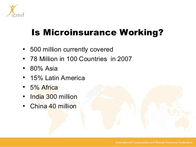 Assessment of Microinsurance as Emerging Microfinance for ...