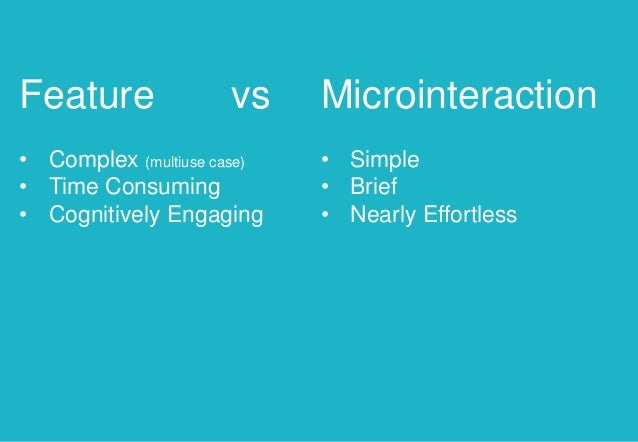 Microinteractions Design Is In The Details