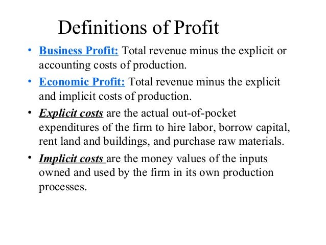 Alternative Theories to Profit Maximization