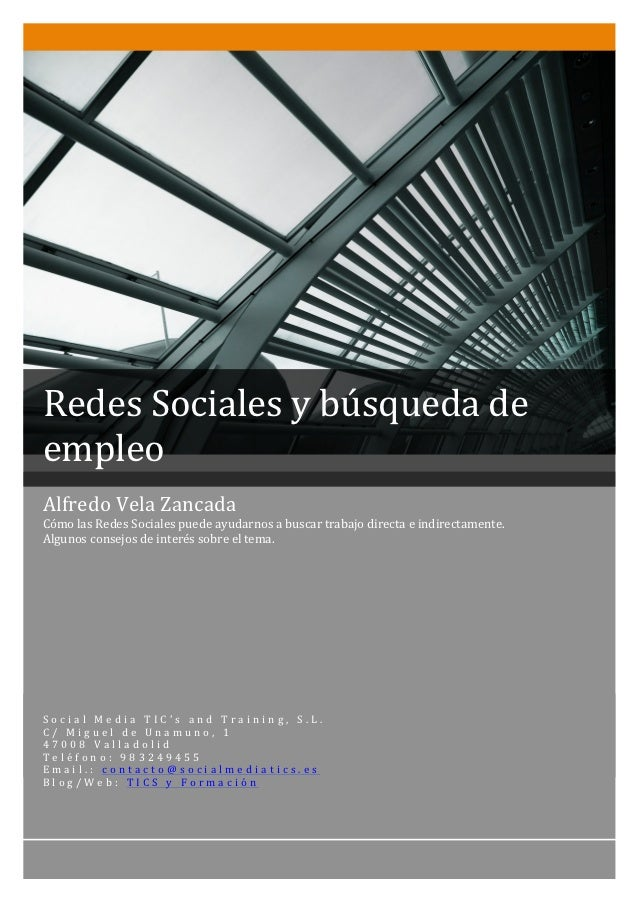 Redes Sociales y búsqueda d...