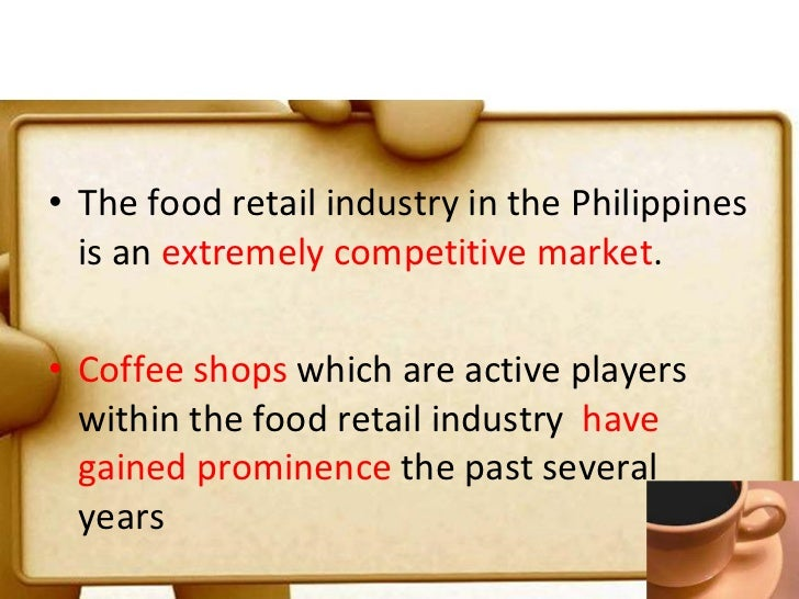 figaro coffee shop swot analysis Evelīna kamzole september 18, 2013 swot analysis for costa coffee strengths weaknesses 1 1 splendid brand name and brand visibility 1 located in relatively few countries 2 reputation for quality that is actually worth worldwide5 the money2 2 only few stores in each country6 3 wide variety of.