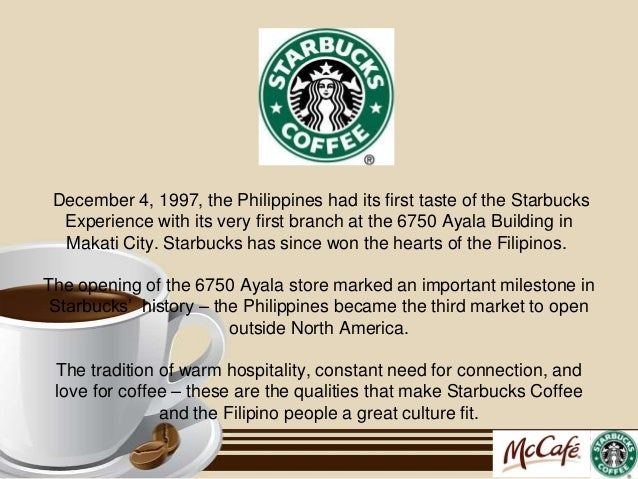 starbucks market analysis 11 starbucks marketing analysis cris b 201501 starbucks marketing analysis katerina haskova starbucks first opened in seattle in 1971 (starbucks, 2014) and has grown from one store to 19,767 stores today.