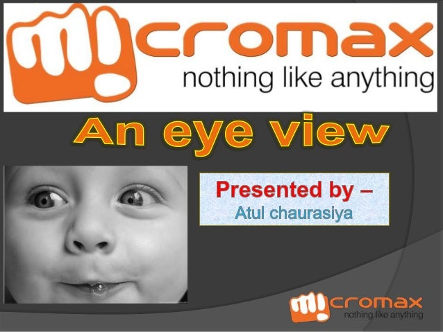 Micromax is an Indian consumer electronics company . It is a private limited company.  12th largest mobile handset manu...